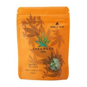 Cannabis Light CBD Everweed - Gorilla Glue