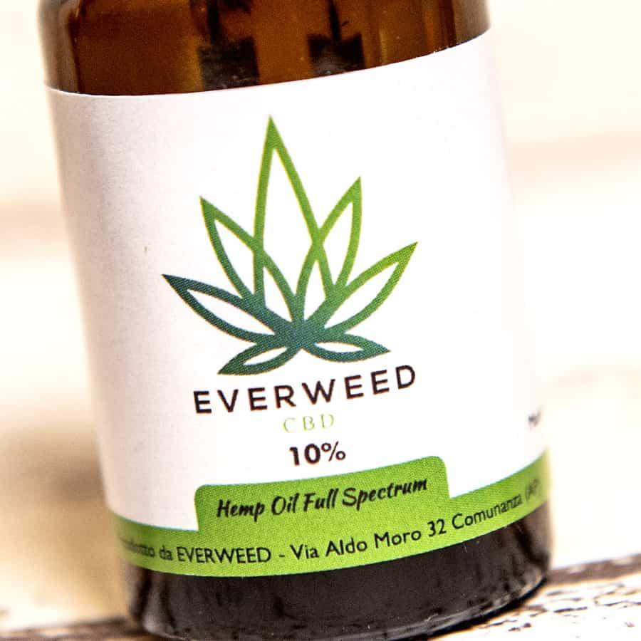 Olio CBD 10% Full Spectrum Everweed