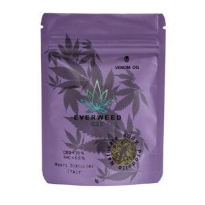 Cannabis Light CBD Everweed - Venom