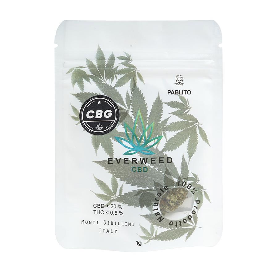 Cannabis Light CBG Everweed - Pablito