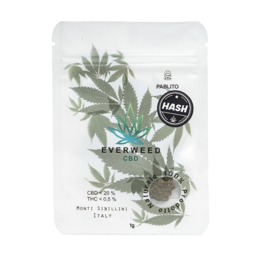Hashish Legale Pablito Lemon Hash Everweed